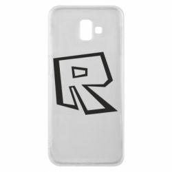 Чохол для Samsung J6 Plus 2018 Roblox minimal logo