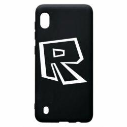 Чохол для Samsung A10 Roblox minimal logo