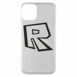 Чохол для iPhone 11 Roblox minimal logo