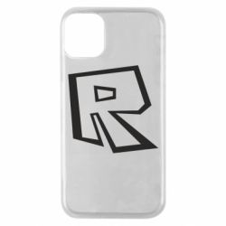 Чохол для iPhone 11 Pro Roblox minimal logo