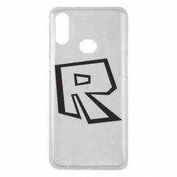 Чохол для Samsung A10s Roblox minimal logo