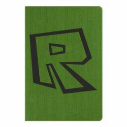 Блокнот А5 Roblox minimal logo