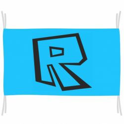 Прапор Roblox minimal logo