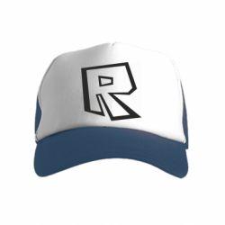 Дитяча кепка-тракер Roblox minimal logo