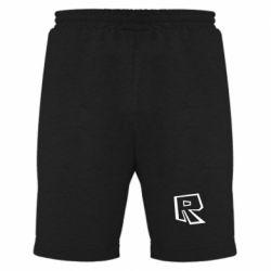 Чоловічі шорти Roblox minimal logo