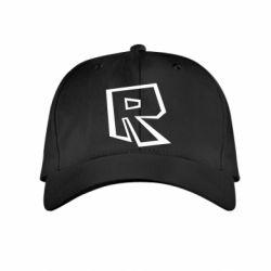 Дитяча кепка Roblox minimal logo