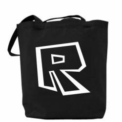 Сумка Roblox minimal logo