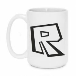 Кружка 420ml Roblox minimal logo