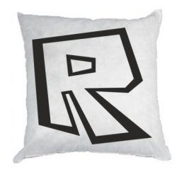 Подушка Roblox minimal logo