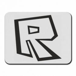 Килимок для миші Roblox minimal logo