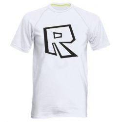 Чоловіча спортивна футболка Roblox minimal logo