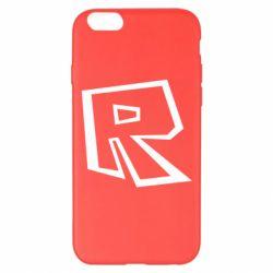 Чохол для iPhone 6 Plus/6S Plus Roblox minimal logo
