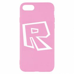 Чохол для iPhone 7 Roblox minimal logo