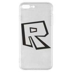 Чохол для iPhone 7 Plus Roblox minimal logo