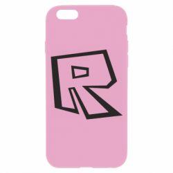 Чохол для iPhone 6 Roblox minimal logo