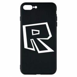 Чохол для iPhone 8 Plus Roblox minimal logo