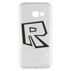 Чохол для Samsung A3 2017 Roblox minimal logo