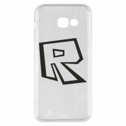Чохол для Samsung A5 2017 Roblox minimal logo