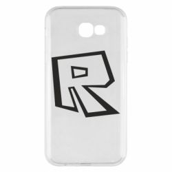 Чохол для Samsung A7 2017 Roblox minimal logo