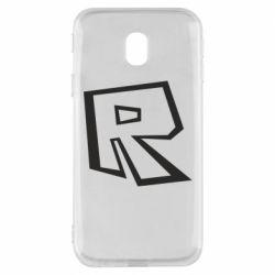 Чохол для Samsung J3 2017 Roblox minimal logo