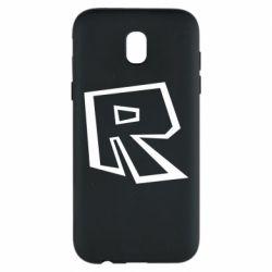 Чохол для Samsung J5 2017 Roblox minimal logo