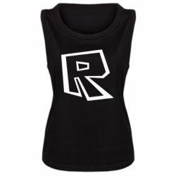 Майка жіноча Roblox minimal logo