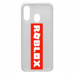 Чохол для Samsung A40 Roblox suprem