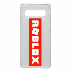 Чехол для Samsung S10 Roblox suprem