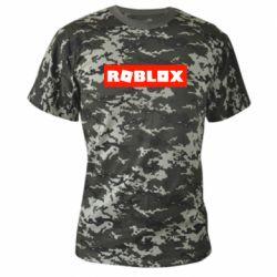 Камуфляжна футболка Roblox suprem