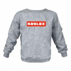 Дитячий реглан (світшот) Roblox suprem
