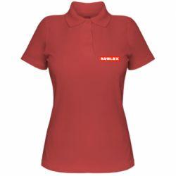 Жіноча футболка поло Roblox suprem