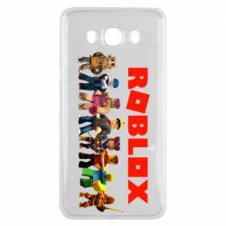 Чохол для Samsung J7 2016 Roblox team