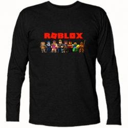 Футболка з довгим рукавом Roblox team