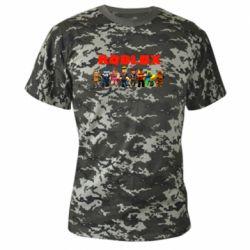 Камуфляжна футболка Roblox team