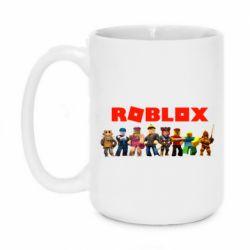 Кружка 420ml Roblox team