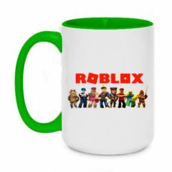 Кружка двоколірна 420ml Roblox team