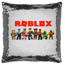 Подушка-хамелеон Roblox team