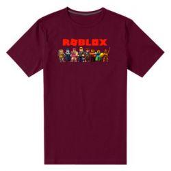 Чоловіча стрейчева футболка Roblox team