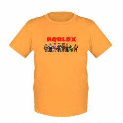 Дитяча футболка Roblox team