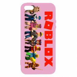 Чохол для iPhone 5 Roblox team