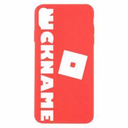 Чохол для iPhone Xs Max Roblox Your Nickaneme