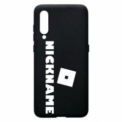 Чехол для Xiaomi Mi9 Roblox Your Nickaneme