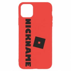 Чехол для iPhone 11 Pro Max Roblox Your Nickaneme