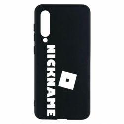 Чехол для Xiaomi Mi9 SE Roblox Your Nickaneme
