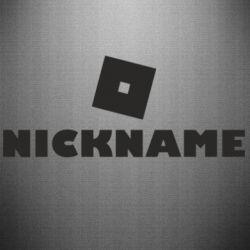 Наклейка Roblox Your Nickaneme