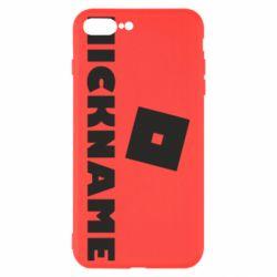 Чехол для iPhone 7 Plus Roblox Your Nickaneme