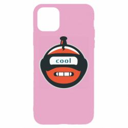 Чохол для iPhone 11 Robot with the word cool