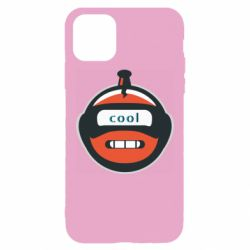 Чохол для iPhone 11 Pro Max Robot with the word cool