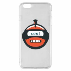 Чохол для iPhone 6 Plus/6S Plus Robot with the word cool