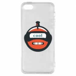 Чохол для iphone 5/5S/SE Robot with the word cool